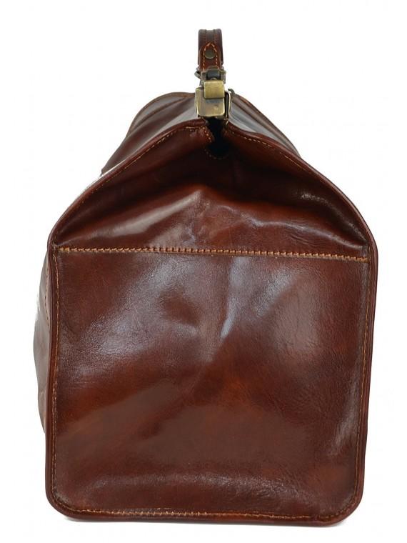 Italienische Echt Leder Arzttasche