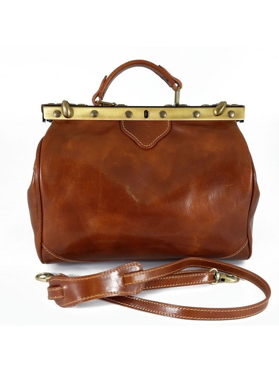 Made in Italy Leder Doktortasche
